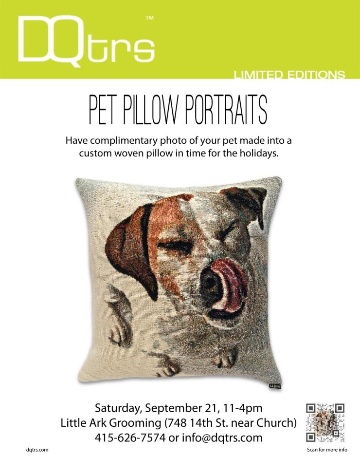 Puppy Pillow Portraits